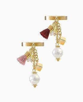 1045570 - <RI694_JE24> sweet tassel pearl ring