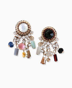 1045577 - <ER1282_DH00> [handmade] Vanessa drop earrings