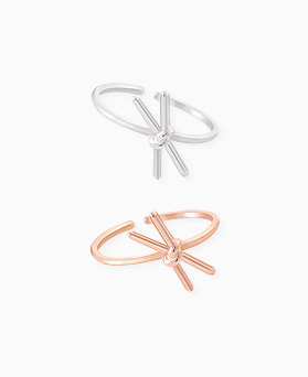 1045581 - <RI702_S> [Sold out] [Silver] simple song ribbon ring