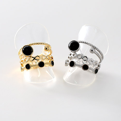 1045603 - <RI698_JC22> [4Piece 1set] babylon ring