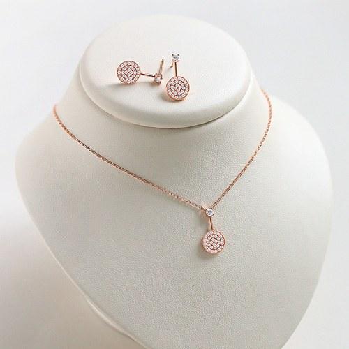1045608 - <JS245_IE13> [necklace + earrings] [Silver]