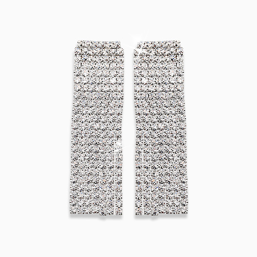 1045618 - <ER1281_DH00> [Silver Post] Miss formal earrings