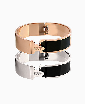 1045622 - <BC658_HB16> [Stainless Steel] love it bracelet