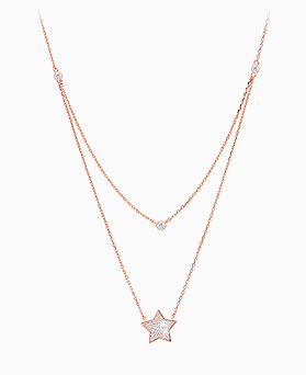 1045638 - <NE408_BC16> sugar star necklace