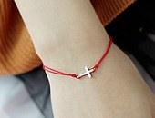 221223 - <SL158-BD08> [Silver] one Ann half bracelet