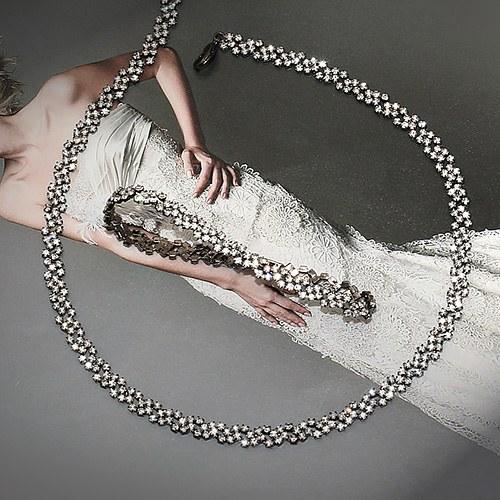 1045642 - <NE402_IE07> solemn cubic necklace