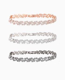 1045643 - <BC651_IE07> solemn cubic bracelet