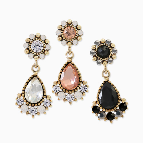 1045645 - <ER1284_DH00> [Same day delivery] [handmade] antique charmant earrings