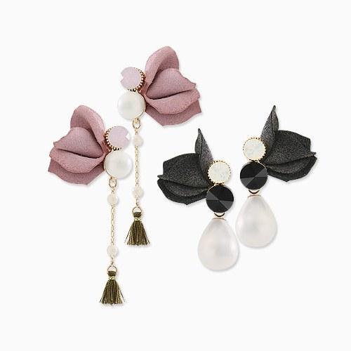 1045659 - <ER1301_CC21> Avignon Flower earrings