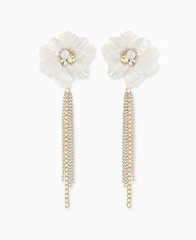 1045666 - <ER1313_CF19> Flower Fountain Two-way Earrings