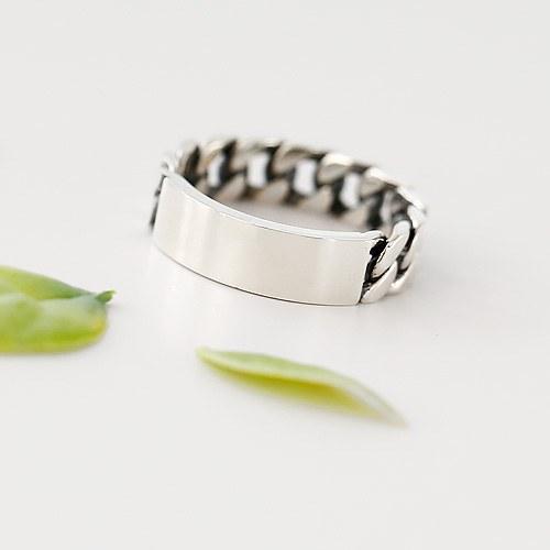 1045709 - <RI730_JJ17> [Silver] Megan twist ring