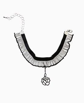 1045732 - <BC667_IC03> Rose lace bracelet