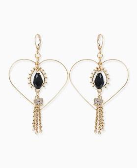 1045739 - <ER1341_IF07> Sweet girl choker earrings