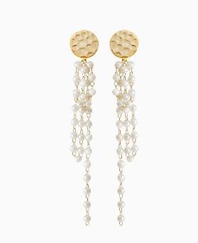 1045741 - [Clip type] Alexandra pearl drop earrings