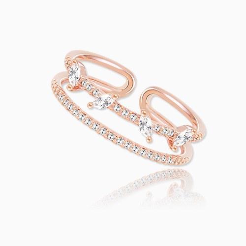 1045749 - <RI715_AH06> Wendy two-line ring