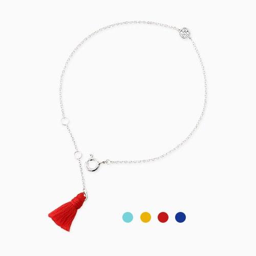 1045755 - <BC702_BE00> [Silver] Rio Mini tassel bracelet