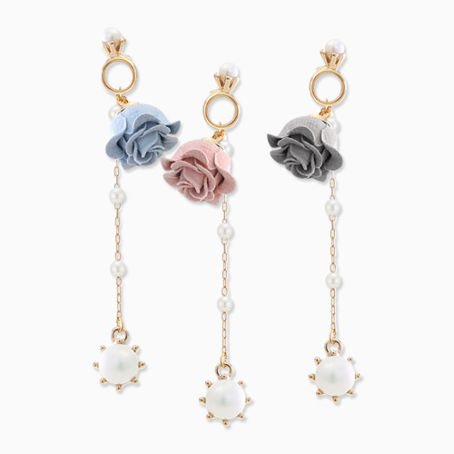 1045759 - <ER1345_CF17> [handmade] Eva pearl drop earrings