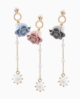 1045759 - <ER1345_CF17> [handmade] Eva pearl drop earrings