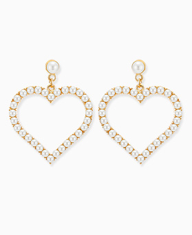 1045760 - <ER1342_GF11> heart day pearl earrings