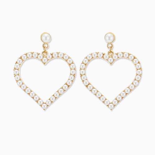 1045760 - <ER1342_GF11> heart day pearl earrings