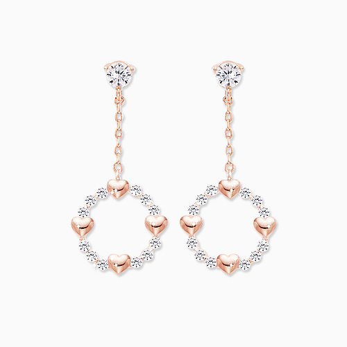 1045761 - <ER1343_DM02> [Same day delivery] [clip type] harty girl earrings