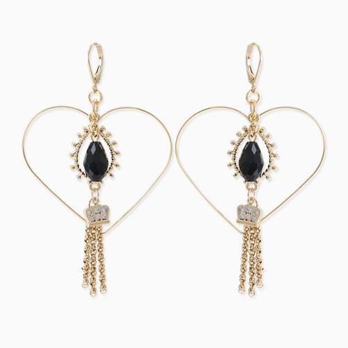 1045766 - <ER1341_IF07> [spring] sweet girl choker earrings