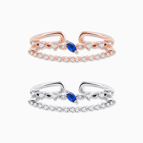 1045768 - <RI716_AE14> Adele Blue ring