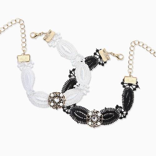 1045780 - <NE423_IE06> ethnic lace choker bracelet