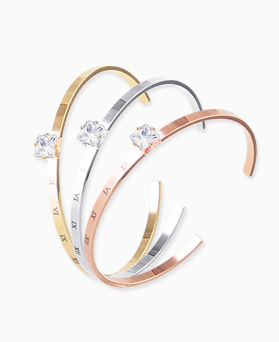 1045796 - <BC671_S> [Sold out] bright slim bangle bracelet