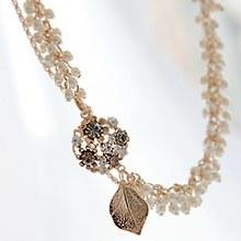 221381 - <NE042-IH06> graceful pearl necklace