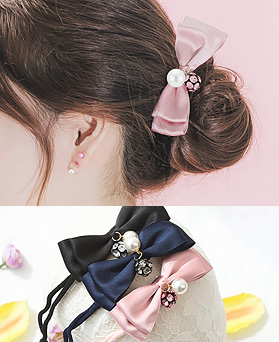 1045817 - <HA540_FD03> Elf ribbon tanggu ponytail