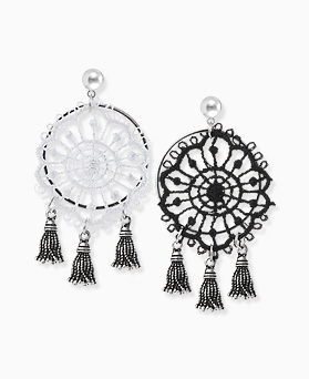 1045822 - <ER1363_CA24> [Silver Post] Calliope tassel earrings