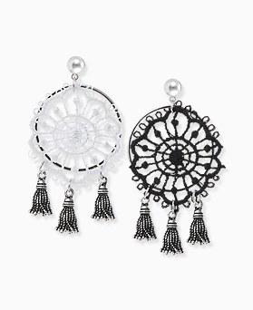 1045822 - <ER1363_S> [Silver Post] Calliope tassel earrings