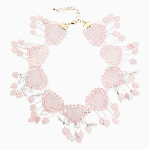 1045830 - <NE426_IB02> Lowell heart choker necklace