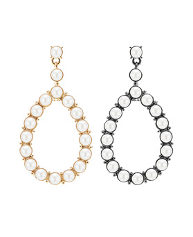1045864 - <ER1377_CH09> Pearl drop earrings