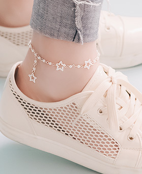1045866 - <BC687_IG03> collar pearl anklet