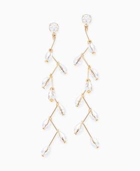 1045891 - <ER1381_CB05> Marvell crystal earrings