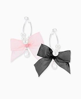 1045892 - <ER1382_CD09> ribbon Ann ring earrings