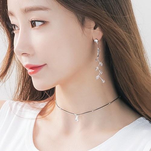1045895 - <NE427_IB04> Crystal choker necklace