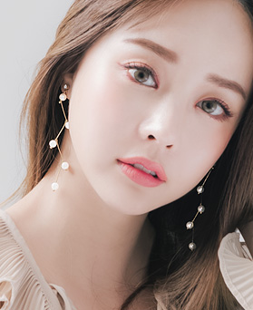 1045904 - <ER1369_CC12> [clip type] melody pearl earrings