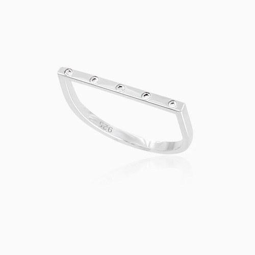 1045916 - <RI728_JE09> [Silver] Duke stick ring
