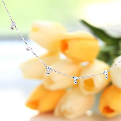1045923 - <JS26_HC13> [bracelet + anklet] Diamant cubic set