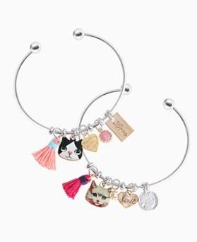 1045933 - <BC693_HD13> cat Ann tassel bangle bracelet
