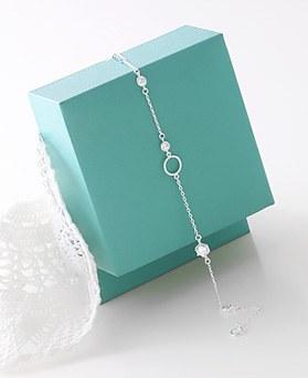 1045970 - <SL479-BD00> [Silver] Kalia cubic bracelet