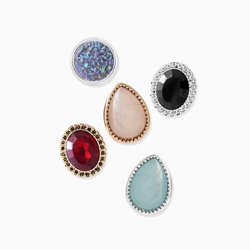 1046008 - <ER1416_CH16> [6Piece 1set] Jude multi earrings