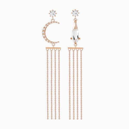 1046056 - <ER1430_DJ10> [Silver Post] Avid Unbalanced Earrings