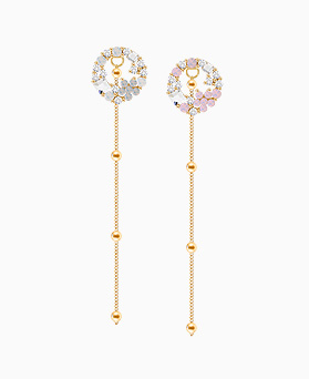 1046058 - <ER1429_CA15> Bailey Flower two-way earrings