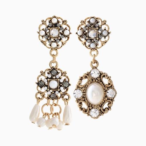 1046137 - <ER1440_CH17> Pearl earrings