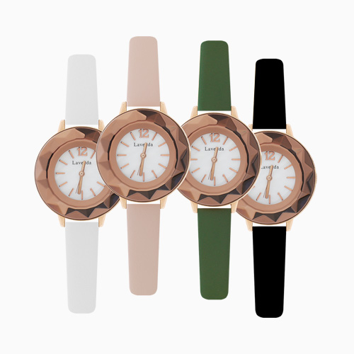 1046169 - <WC111_BD10> Bronin round leather watches