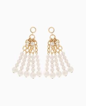 1046245 - <ER1467_CH09> pearl multi line earrings